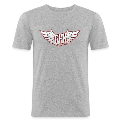 ghk reds png - Männer Slim Fit T-Shirt