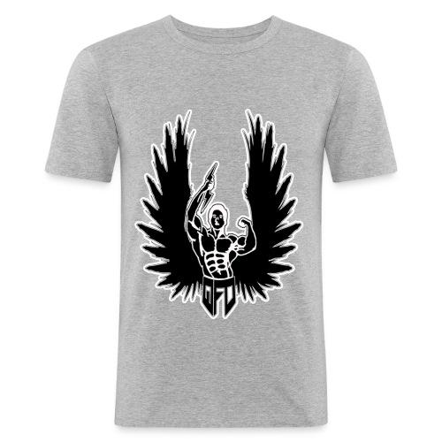 logo 50 60 BLANC gratuit - T-shirt près du corps Homme