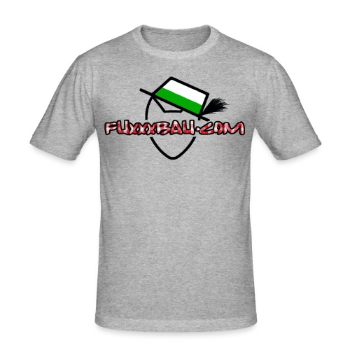 fuxxxbau mit logo steiermark - Männer Slim Fit T-Shirt