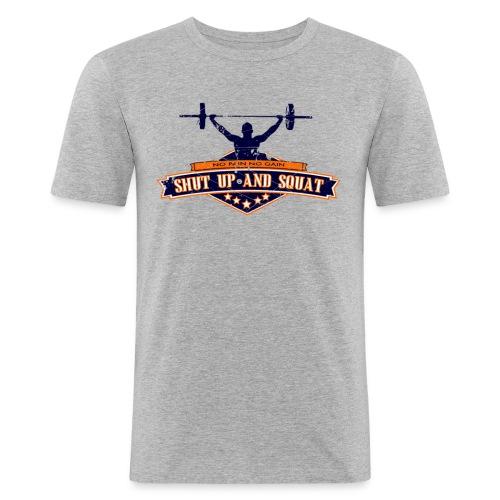 shutup v1 - T-shirt près du corps Homme