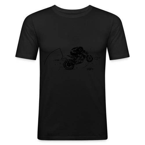 Reitwagen superduke by www bunnypop de - Männer Slim Fit T-Shirt