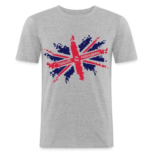 unionjack - Männer Slim Fit T-Shirt