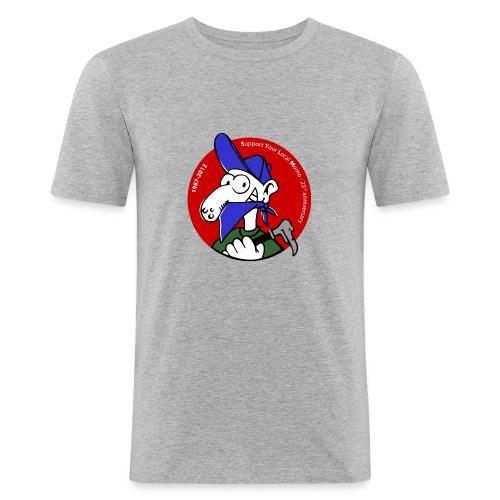 momo8zork - T-shirt près du corps Homme