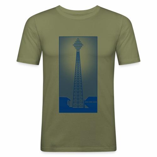 FLOOD NIGHT - Men's Slim Fit T-Shirt