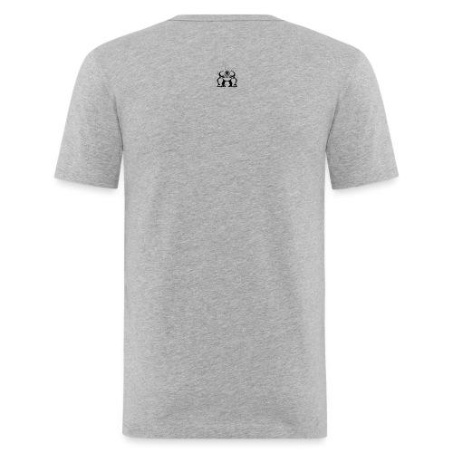 Gorilla Flame - Männer Slim Fit T-Shirt