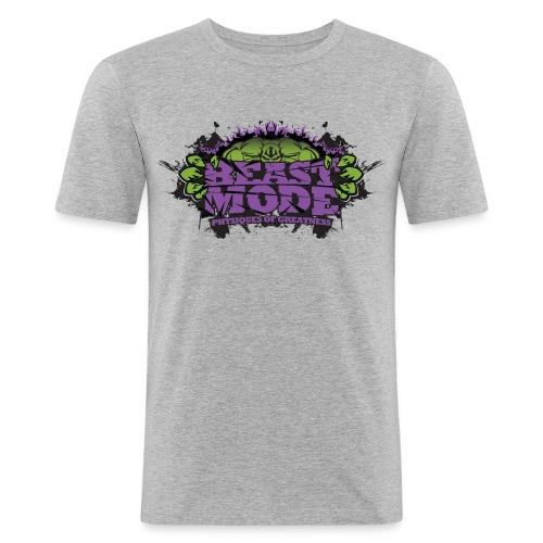 1926562 12135658 beastmodemanpurplepng o - Men's Slim Fit T-Shirt