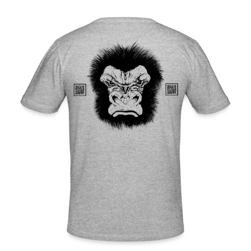 team gorilla copy - Men's Slim Fit T-Shirt