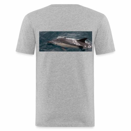 delfin comun - Camiseta ajustada hombre