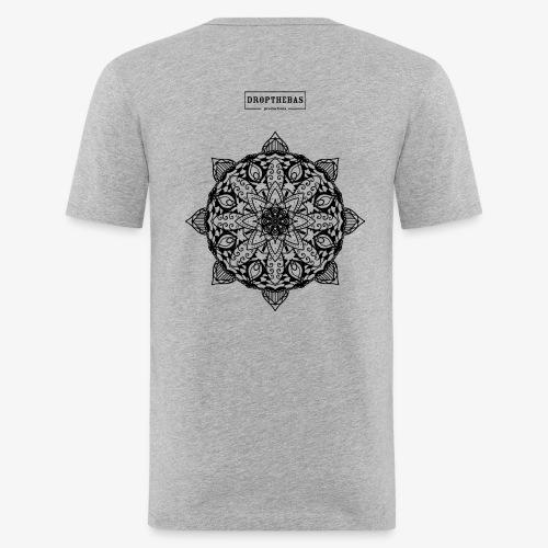 mandala - Mannen slim fit T-shirt