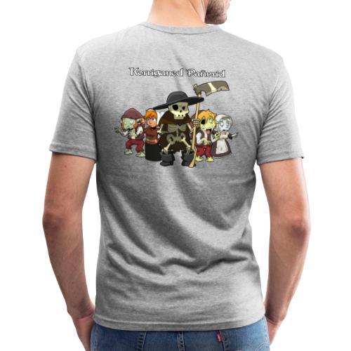 Kontadennoù ha mojennoù ar Marv - T-shirt près du corps Homme