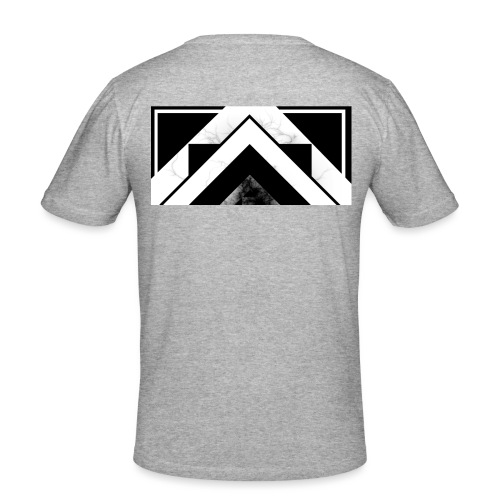 Half black mist - Men's Slim Fit T-Shirt