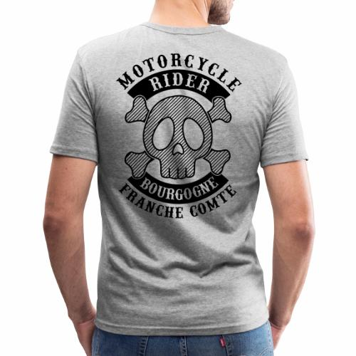 Motorcycle Rider Bourgogne-Franche-Comté - T-shirt près du corps Homme