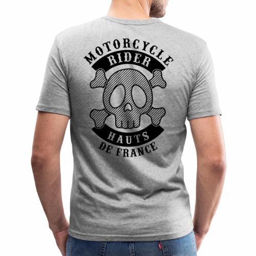 Motorcycle Rider Hauts-de-France - T-shirt près du corps Homme