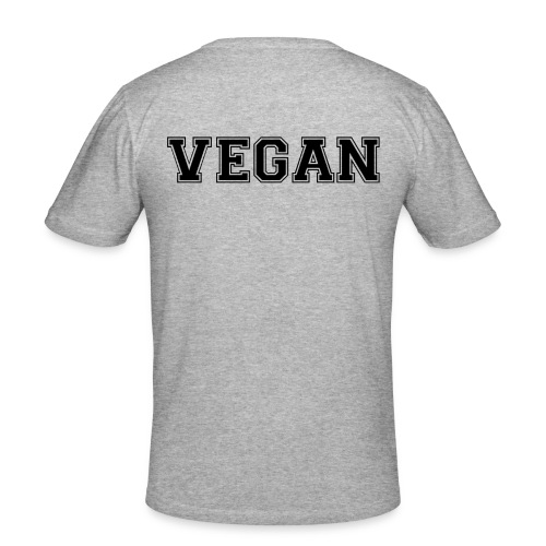 Vegan sports - Miesten tyköistuva t-paita