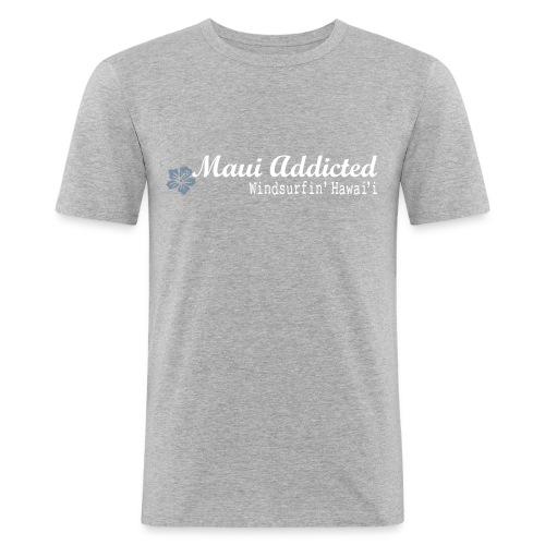 MAddLogo ai - Men's Slim Fit T-Shirt
