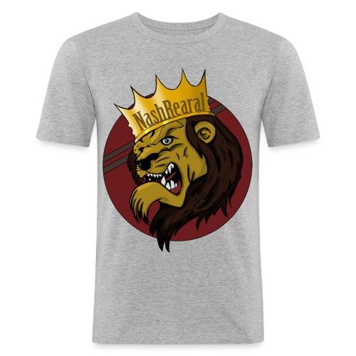 Nash_Rearal_neu - Männer Slim Fit T-Shirt