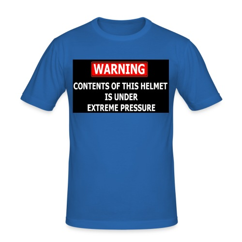 warning - T-shirt près du corps Homme