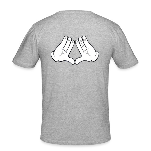 KDA logo chemise 1er - T-shirt près du corps Homme