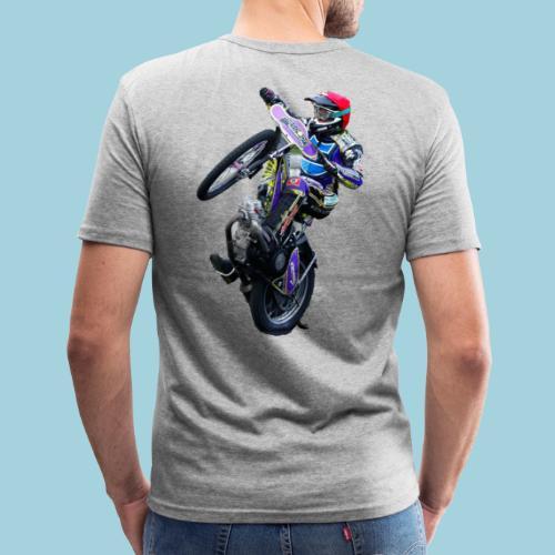tobi wheeli gif - Männer Slim Fit T-Shirt