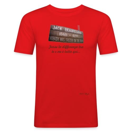 Beauregard Differenza fronte - Maglietta aderente da uomo