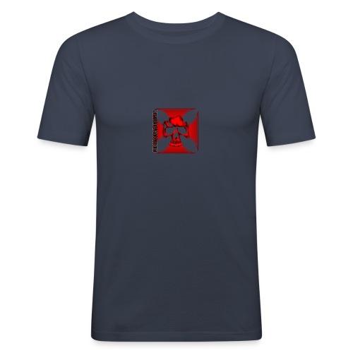 Logo MCC rouge - T-shirt près du corps Homme