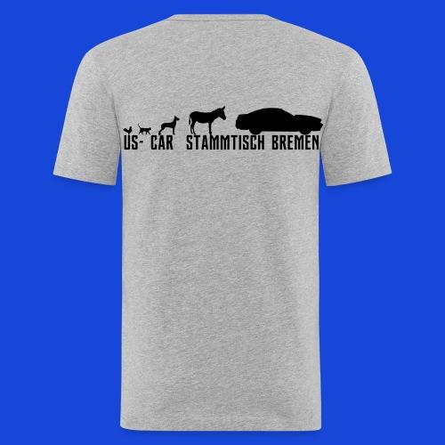 Evolution3 - Männer Slim Fit T-Shirt