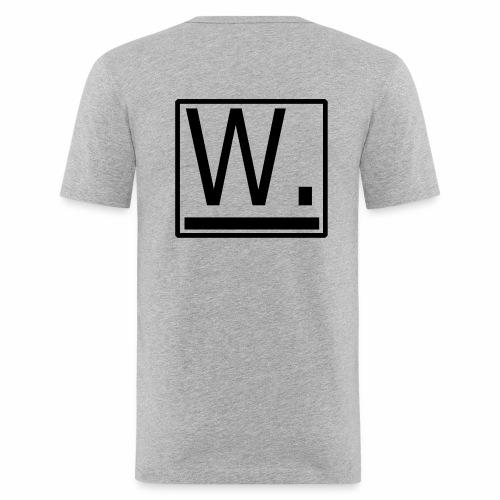 W. - Mannen slim fit T-shirt