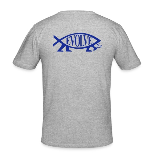 evolve pur - Männer Slim Fit T-Shirt