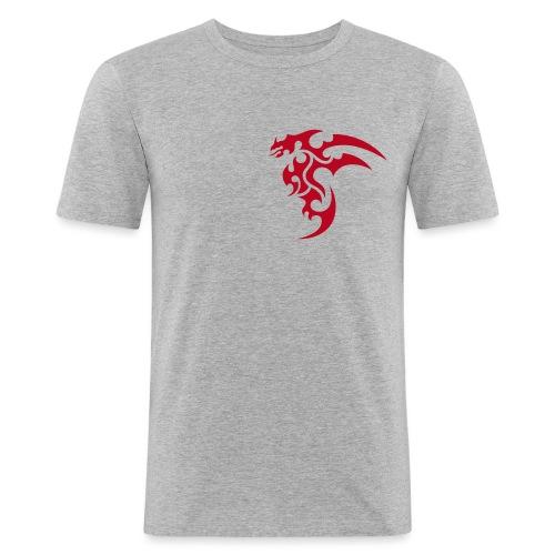 HBS Dragon - Männer Slim Fit T-Shirt