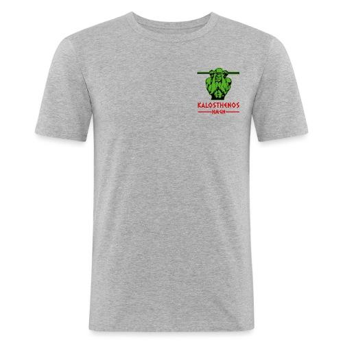 kalosthenosnmgn - Mannen slim fit T-shirt