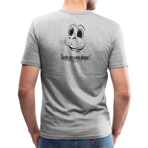 Touche pas a mon phoque de Berck! - T-shirt près du corps Homme