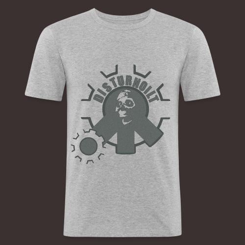 DIST-wwilwnin - Männer Slim Fit T-Shirt