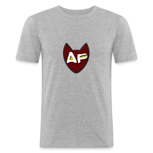 af ohne - Männer Slim Fit T-Shirt