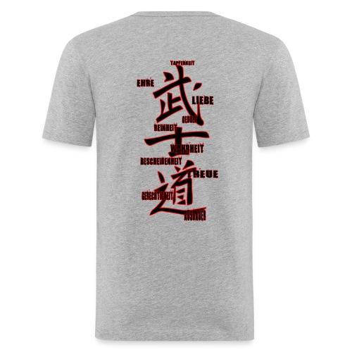 BUSHIDO gif - Männer Slim Fit T-Shirt