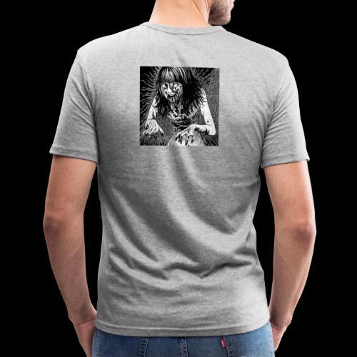 Hell 地獄 - Mannen slim fit T-shirt