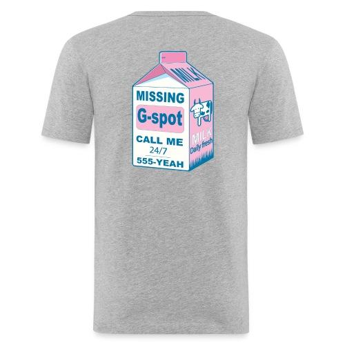 Missing : G-spot - Men's Slim Fit T-Shirt