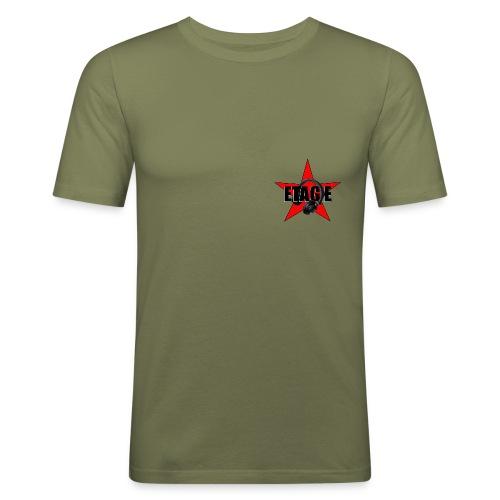 ETAGE logo png - Männer Slim Fit T-Shirt