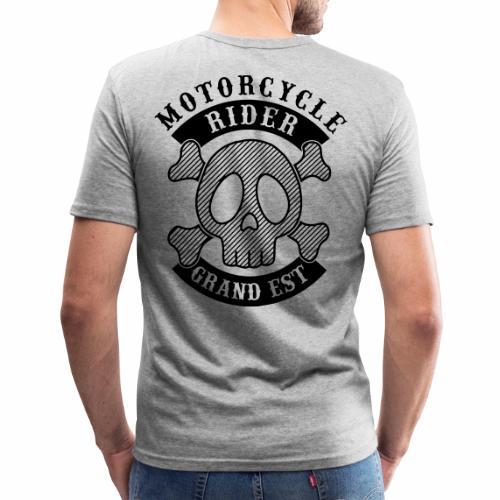 Motorcycle Rider Grand-Est - T-shirt près du corps Homme