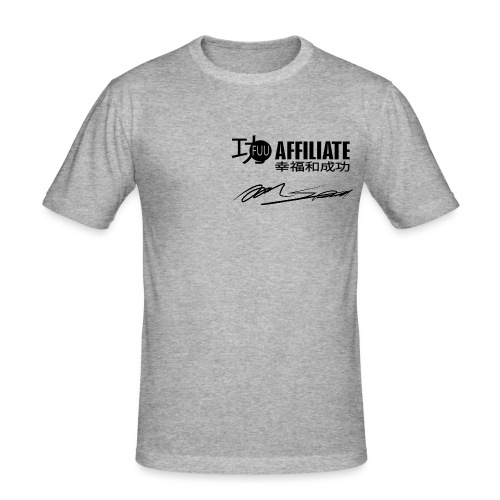 2496021_16513653_no_name_ - Männer Slim Fit T-Shirt