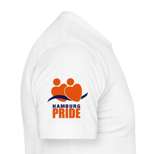 pride logo - Männer Slim Fit T-Shirt