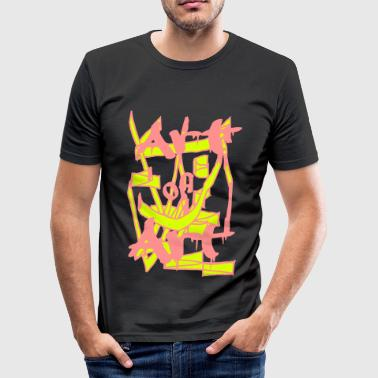 art of art - Männer Slim Fit T-Shirt
