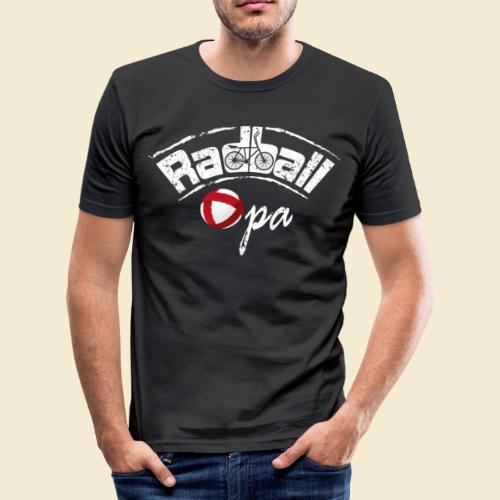Radball | Opa - Männer Slim Fit T-Shirt