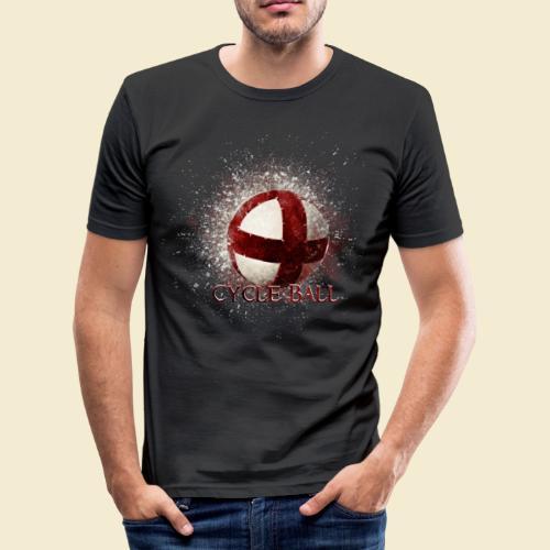 Radball | Cycle Ball - Männer Slim Fit T-Shirt