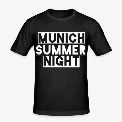 MSN - Männer Slim Fit T-Shirt