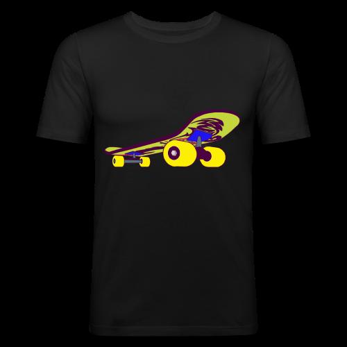 Skateboard Collection - Slim Fit T-skjorte for menn