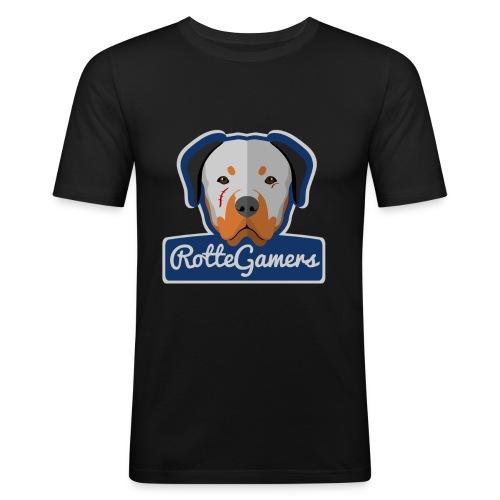 Original RotteGamers Hoodie Logo - slim fit T-shirt