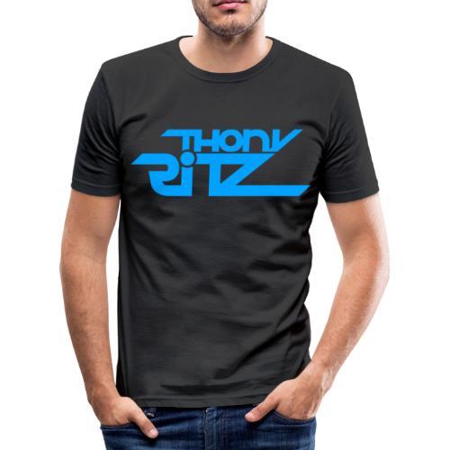 TR Logo Blue - T-shirt près du corps Homme