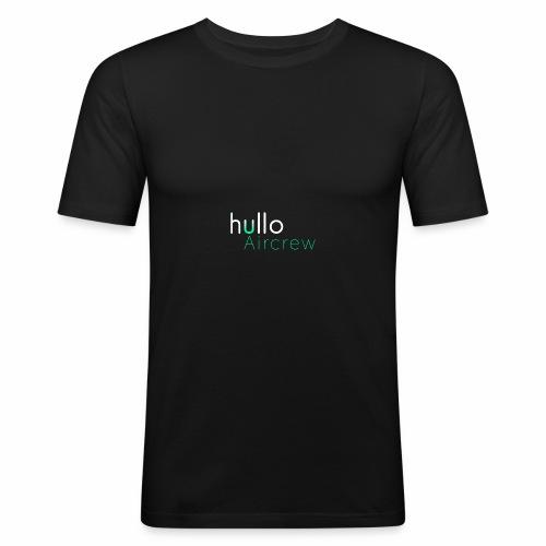 hullo Aircrew Dark - Men's Slim Fit T-Shirt