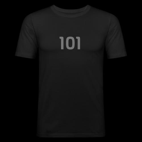Motiv101 - Männer Slim Fit T-Shirt