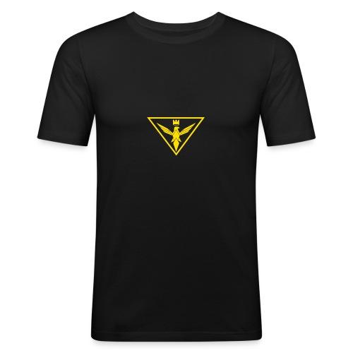 The Stream Team Small Logo - Men's Slim Fit T-Shirt